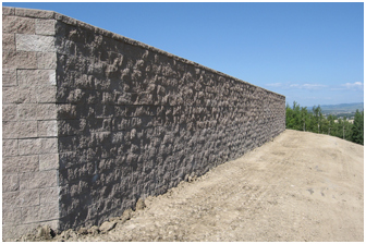 Developer 3.5m Vertical Retaining Wall with no Set Back