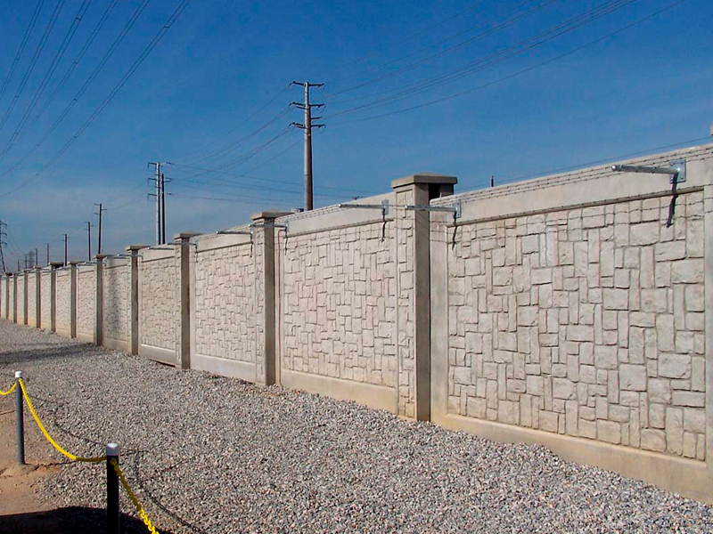 Utility And Substation Walls